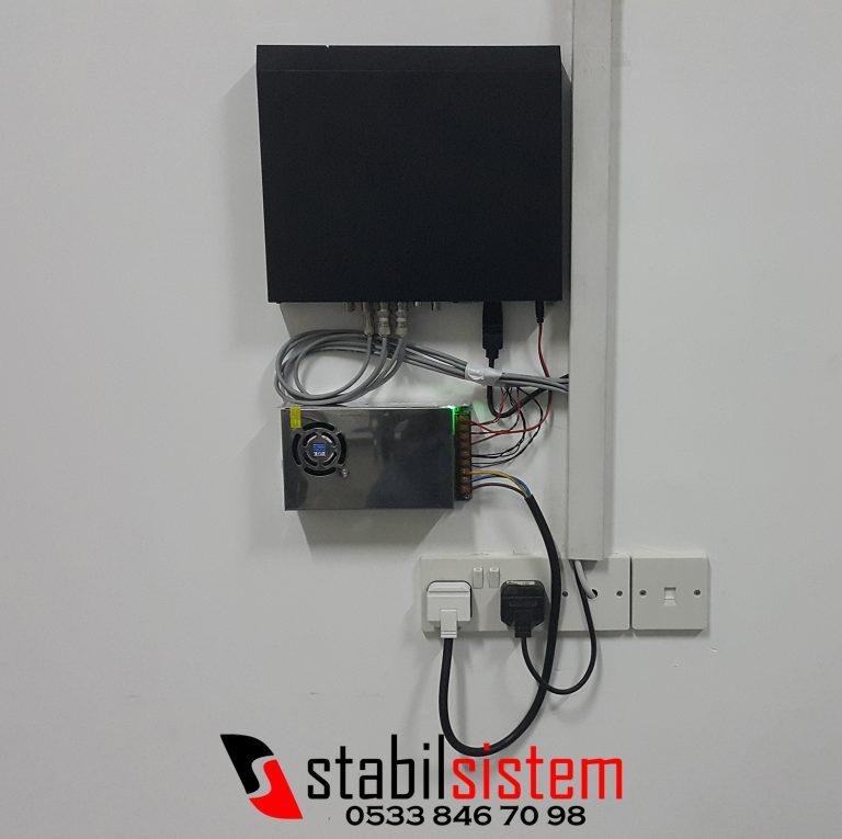 kıbrıs stabilsistem ahd kamera kayıt cihazı montaj resmi