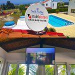 Kıbrıs Uydu Kurulumu tv montajı askı aparatı