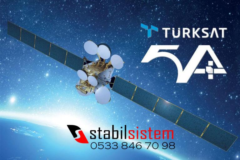 Türksat 5A uydusu hakkında bilgiler.
